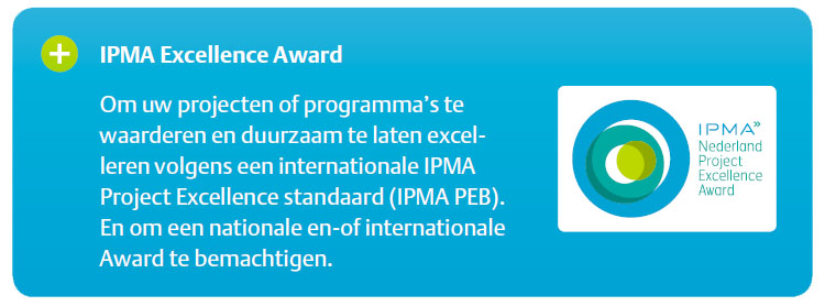 informatie over de Project Excellence Awards