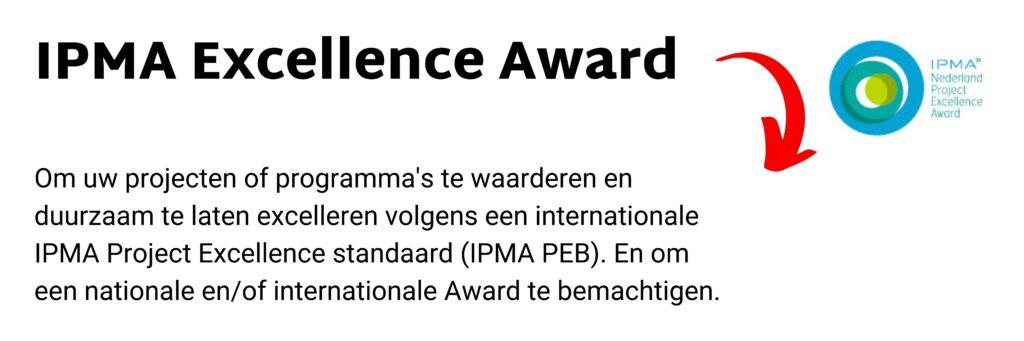IPMA-NL Excellence Award